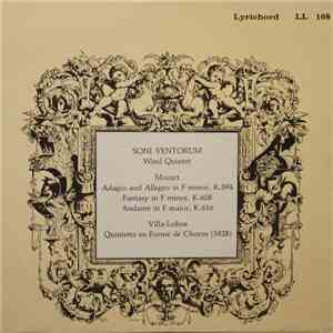 Mozart, Villa-Lobos - Soni Ventorum Wind Quintet - Adagio And Allegro In F Minor. K.594 / Fantasy In F Minor, K.608 / Andante In F Major, K.616 / Quintette En Forme De Choros  download mp3 flac